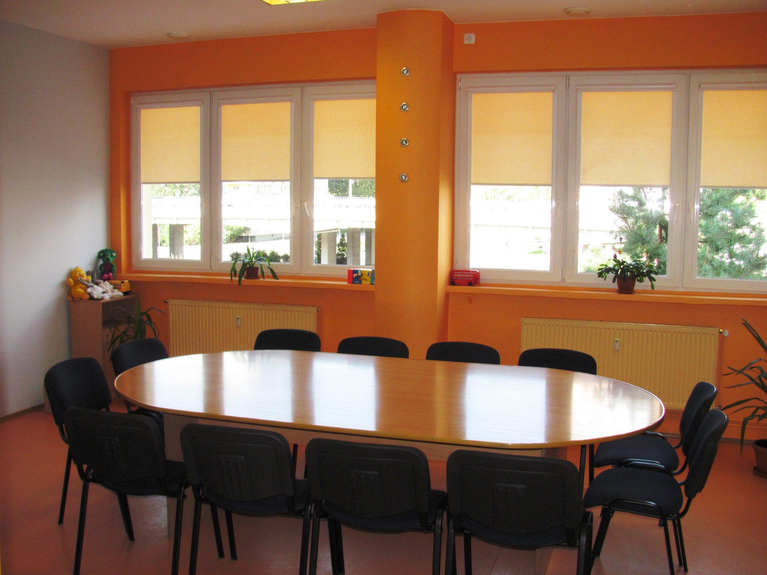 Szkoła językowa - sala wykładowa